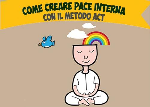 Pace interiore, Come crearla con il metodo ACT